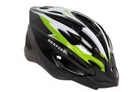 Шлем велосипедный Bravvos Черно-желтый