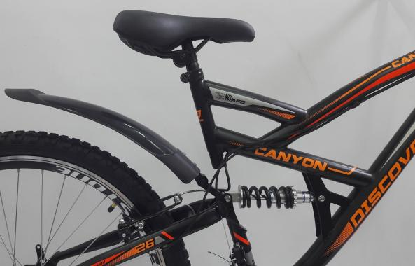 """Велосипед 26"""" Discovery CANYON двухподвес"""