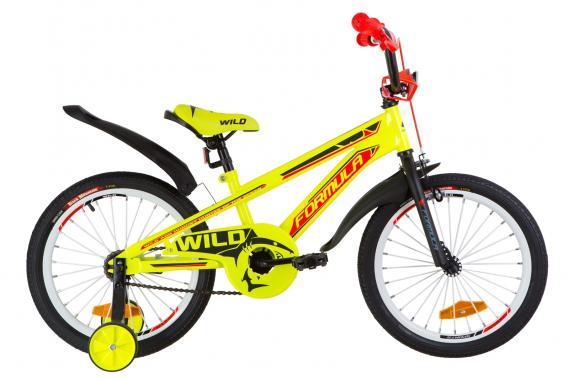 """Детский велосипед 18"""" Formula WILD"""