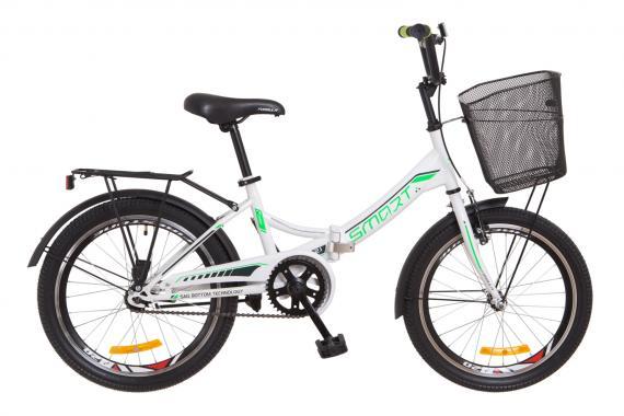 Складной велосипед 20 Formula SMART с корзиной