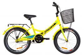 Велосипед 20 Formula SMART с корзиной складной