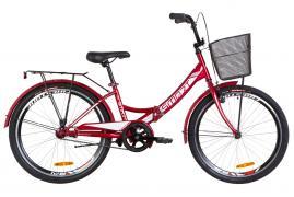 Велосипед 24 Formula SMART с корзиной складной