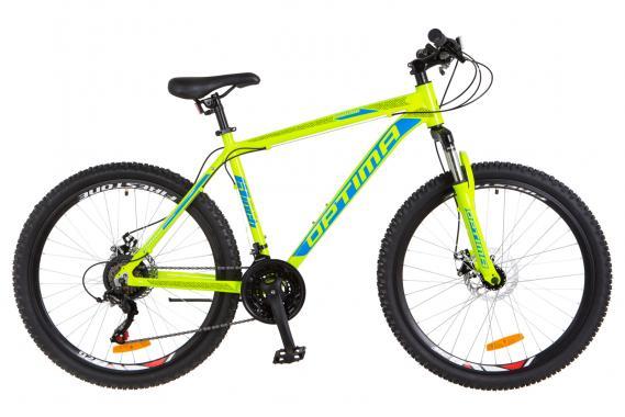 """Велосипед 26"""" Optima MOTION DD 16"""" горный"""
