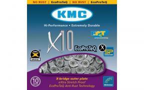 Цепь KMC X10-1EPT на велосипед