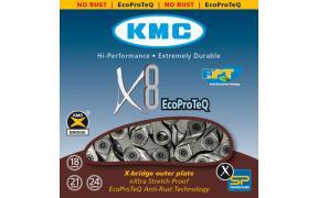 Цепь KMC X8EPT на велосипед